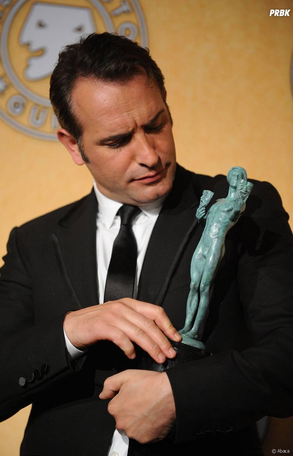 Jean dujardin meilleur acteur devant brad pitt et george for Cinema jean dujardin