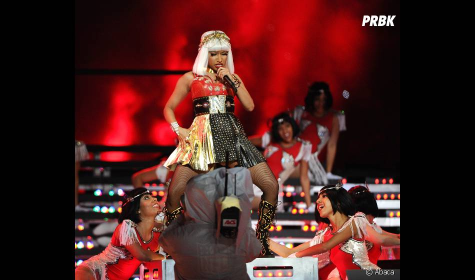 Nicki Minaj met le feu au Super Bowl