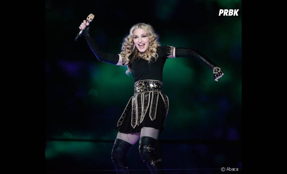 Madonna s'éclate sur scène
