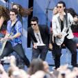 Les Jonas Brothers en concert en 2010