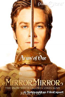Armie Hammer dans le nouveau poster de Mirror Mirror