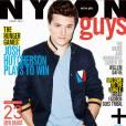 Josh Hutcherson en couverture de Nylon Guys