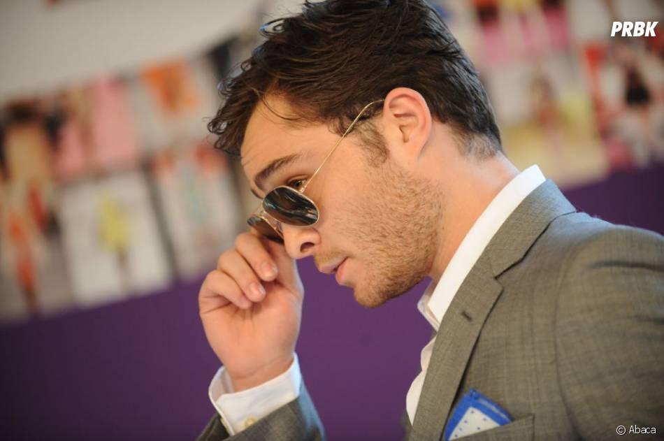 Ed Westwick, beau gosse avec ses lunettes