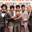 Harry, Louis, Liam, Zayn et Niall super heureux