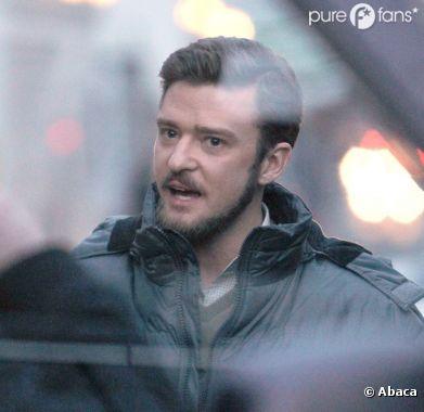 Justin Timberlake barbu !