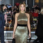 Hunger Games : Jennifer Lawrence, une fille en or à Londres (PHOTOS)