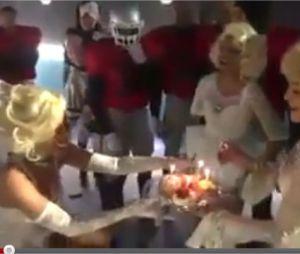 Nicki Minaj fête son anniversaire avec Madonna.