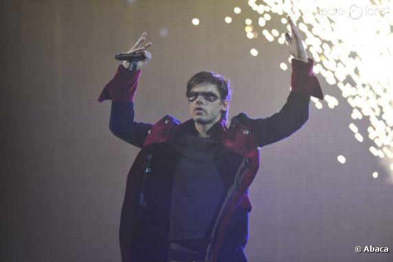Orelsan sur scène aux Victoires de la musique 2012