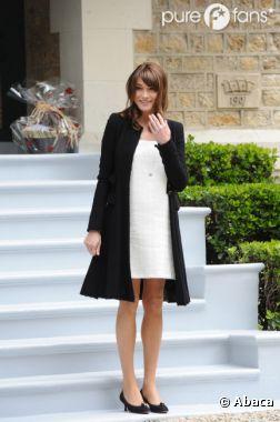 Carla Bruni en mode First Lady