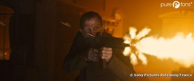 Daniel Craig en James Bond dans Skyfall