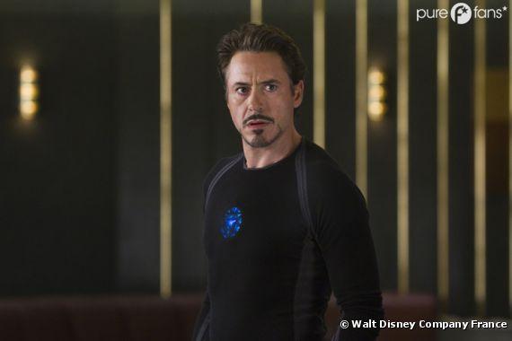 Robert Downey Jr de retour sur le tournage d'Avengers !
