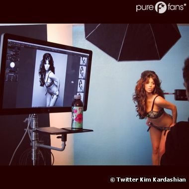 Kim Kardashian est super hot !