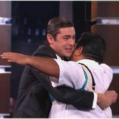 Zac Efron : MEGA concours de dégrafage de soutif' avec Jimmy Kimmel (VIDEO)