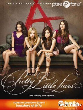 La première affiche de la saison 3 de Pretty Little Liars