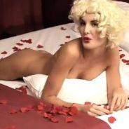 Les Anges de la télé réalité 4 : Marie nue se prend pour Marilyn Monroe ! (VIDEO)