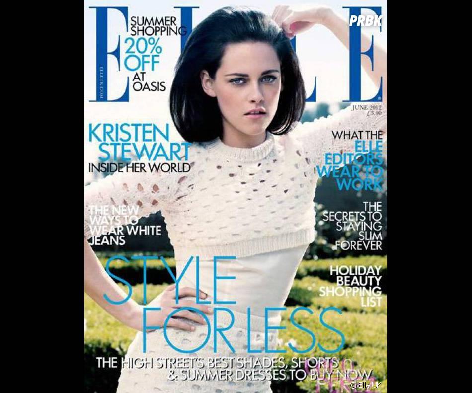 Kristen Stewart façon Mad Men pour Elle