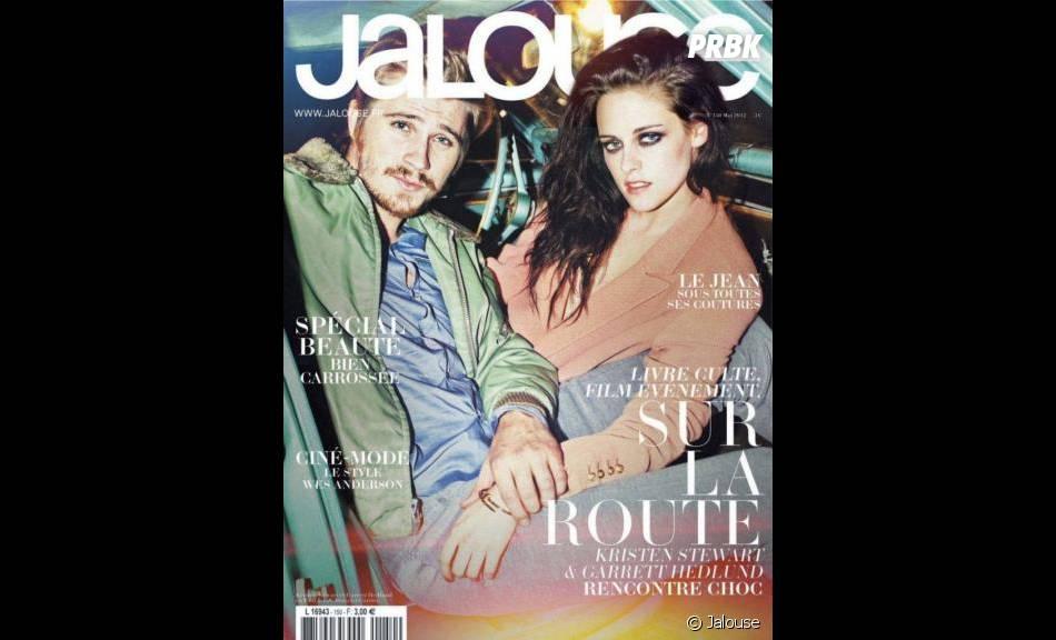 Kristen Stewart et Garrett Hedlund en une de Jalouse