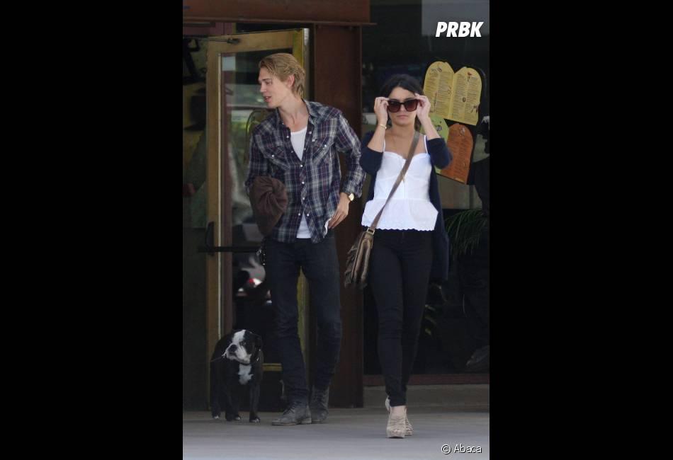 Vanessa et Austin de sortie en ville
