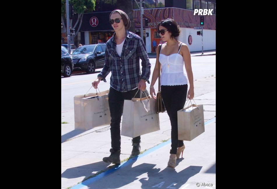 Austin et Vanessa font du shopping !