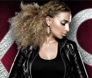 Kayna Samet sur la pochette de son nouvel album A Coeur Ouvert