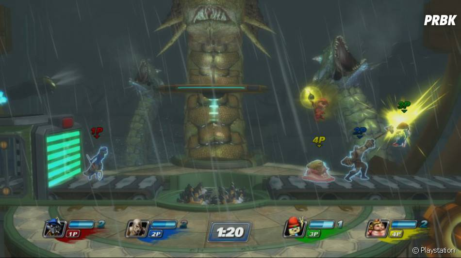 PlayStation All Stars : Battle Royale, un jeu explosif