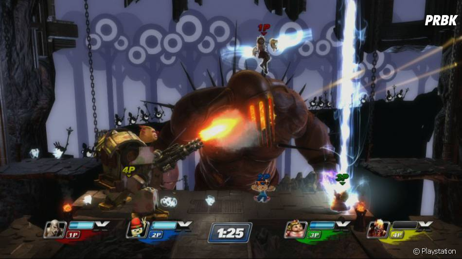 PlayStation All Stars : Battle Royale un nouveau soft génialissime