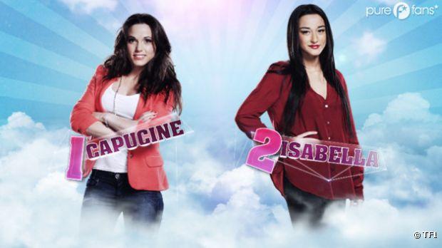 Capucine et Isabella, premières nominées de l'aventure Secret Story 6