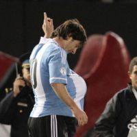 Lionel Messi bientôt papa ? il confirme la rumeur avec un but ! (PHOTOS)