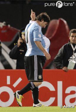 Lionel Messi va être papa !