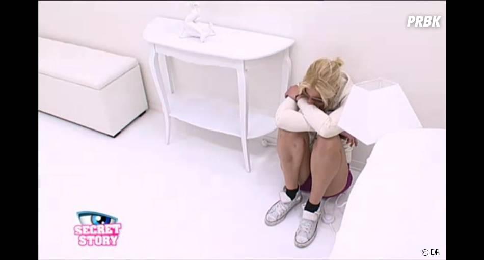 Nadège s'était même isolée pour pleurer après le petit mot adressé à sa mère