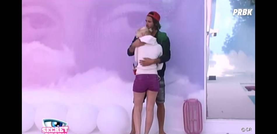 Et Thomas n'avait pas hésité à la prendre dans ses bras pour la consoler !
