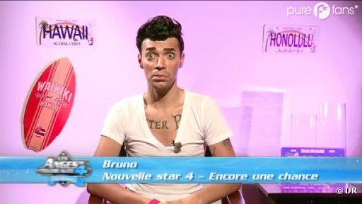 Bruno a l'air complètement paniqué