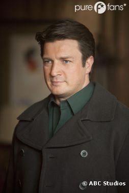 Nathan Fillion voulait à tout prix jouer dans Castle !
