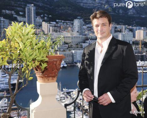 Nathan Fillion à Monte Carlo