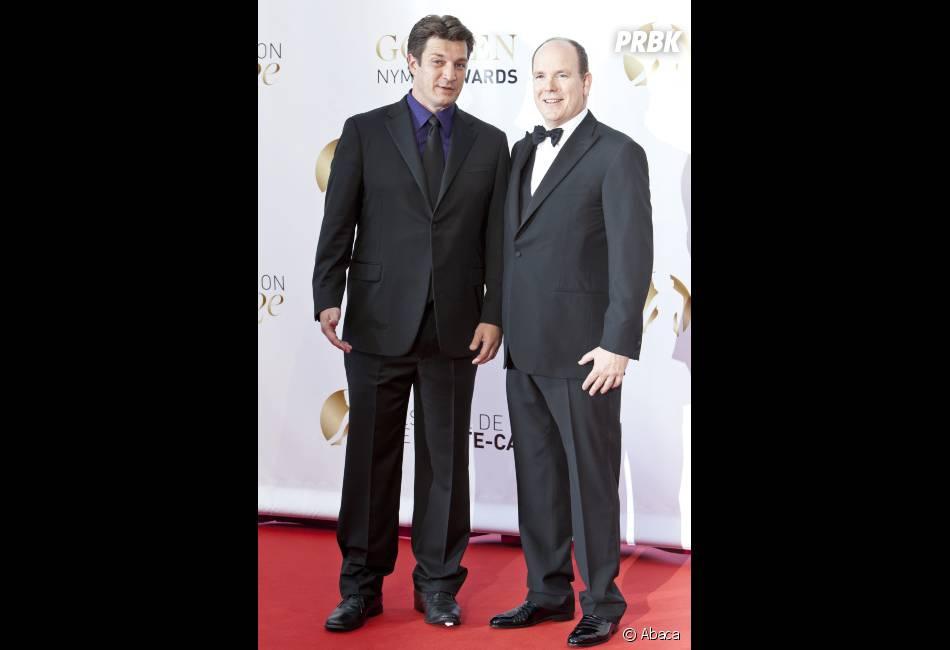 Nathan Fillion et le Prince Albert de Monaco