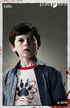 Carl va beaucoup évoluer dans Walking Dead