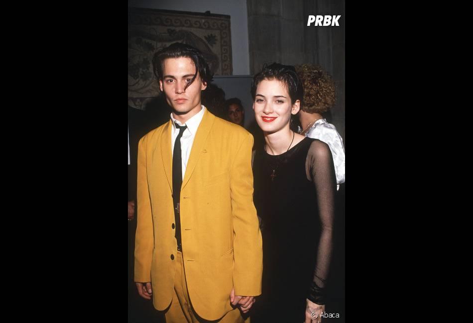 Johnny Depp et Winona Ryder ont vécu une belle histoire au début des 90's