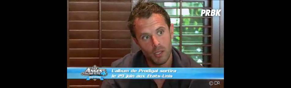 Fabrice annonce les bonnes nouvelles à Myriam