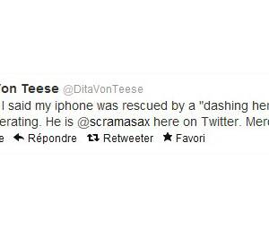 Dita Von Teese nous raconte tout sur Twitter