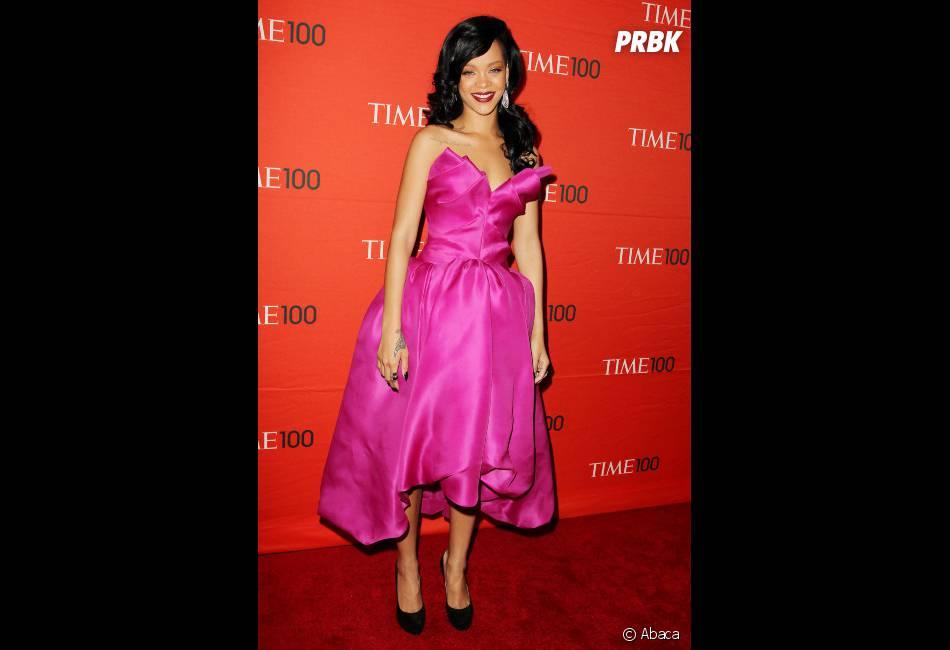 Rihanna de nouveau au coeur d'une bagarre