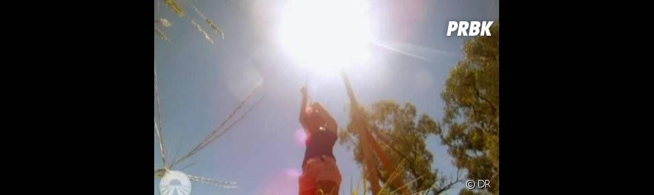 Les candidats tentent de résister sous un soleil de plomb