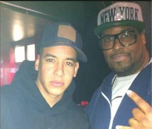 Big Ali et Daddy Yankee, sur le remix de Lovumba