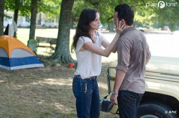 Une saison difficile pour Lori et Rick dans Walking Dead