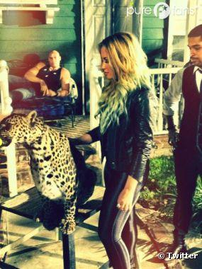 Demi Lovato bosse avec son ex !