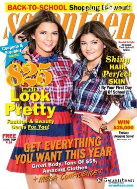 Kylie Jenner se confie dans le magazine Seventeen !