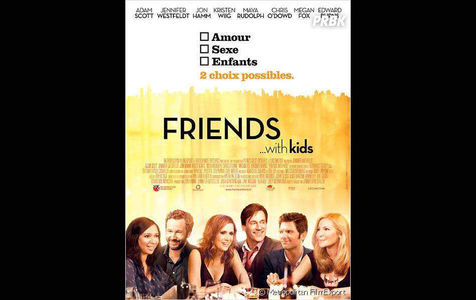 Jon Hamm n'a pas fait le plein avec Friends With Kids