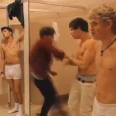 One Direction : torses nus pour MTV ! Miam ! (VIDEO)