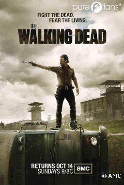 Rick, nouvelle menace dans la saison 3 de Walking Dead ?