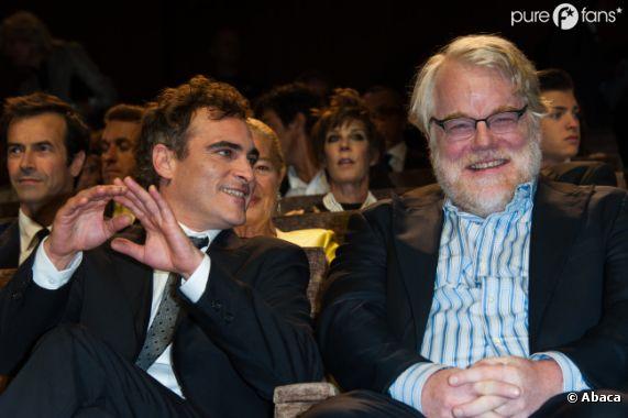 Joaquin Phoenix et Philip Seymour Hoffman sacrés pour The Master
