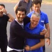 Les Seigneurs : Ramzy et José Garcia face aux joueurs de l'équipe de France de football (VIDEO)
